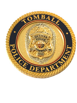 TOMBALL POLICE TX COIN