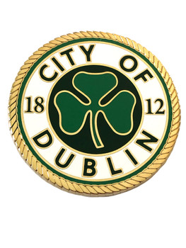 DUBLIN POLICE GA COIN