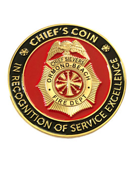ORMOND BEACH FIRE DEPT FL COIN