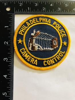 PHILADELPHIA POLICE CAMERA CONTROL UNIT PATCH VERY RARE