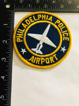 PHILADELPHIA POLICE  AIRPORT UNIT PATCH VERY RARE