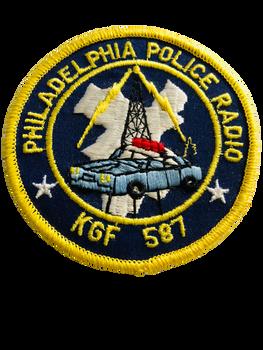 PHILADELPHIA POLICE RADIO UNIT PATCH