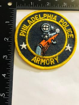 PHILADELPHIA POLICE  ARMORY  UNIT PATCH