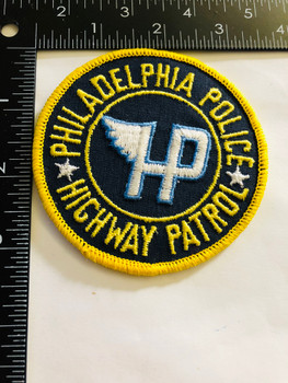 PHILADELPHIA POLICE  HIGHWAY PATROL  UNIT PATCH