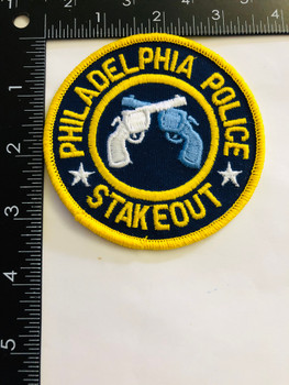 PHILADELPHIA POLICE  STAKEOUT UNIT PATCH