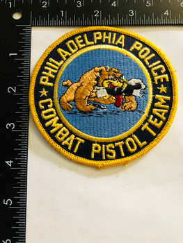 PHILADELPHIA POLICE  COMBAT PISTOL TEAM UNIT PATCH