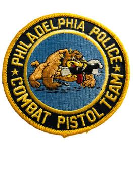 PHILADELPHIA POLICE  COMBAT PISTOL TEAM UNIT PATCH