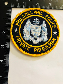 PHILADELPHIA POLICE   PRIVATE PATROLMAN  PATCH