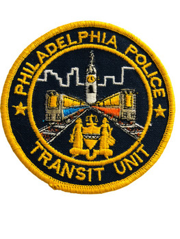 PHILADELPHIA POLICE TRANSIT UNIT  PATCH