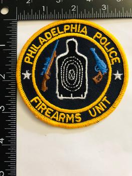 PHILADELPHIA POLICE FIREARMS UNIT  PATCH