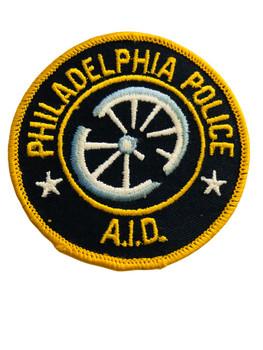 PHILADELPHIA POLICE AID  PATCH