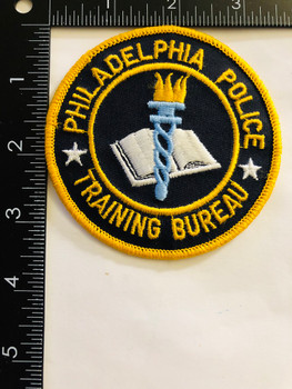 PHILLY UNIT PATCH TRAINING BUREAU