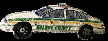 ORANGE CTY SHERIFF FL  SQUAD CAR POLICE PATCH