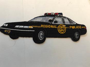 PA REGIONAL SQUAD CAR PATCH BLACK