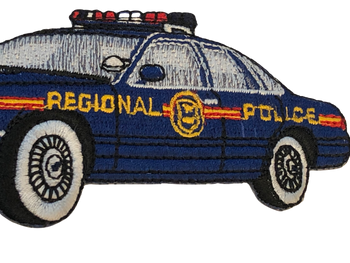 PA REGIONAL SQUAD CAR PATCH BLUE