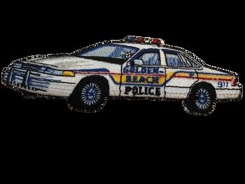 GOLDEN BEACH POLICE FL SQUAD CAR PATCH