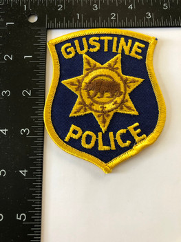 GUSTINE POLICE CA PATCH