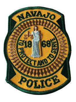 NAVAJO   POLICE FEDERAL AGENCY  PATCH