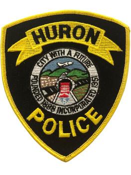 HURON POLICE CA POLICE PATCH #2 RARE