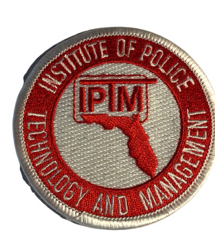 IPTM INSTITUTE OF POLICE  PATCH