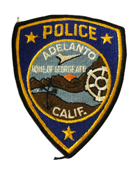 ADELANTO POLICE CA PATCH