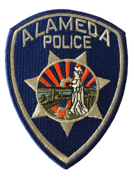 ALAMEDA  POLICE CA PATCH
