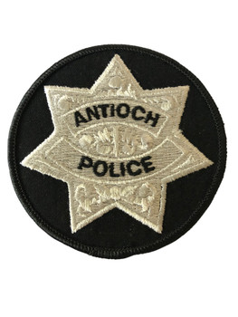 ANTIOCH POLICE CA PATCH