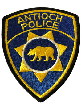 ANTIOCH POLICE CA PATCH #2