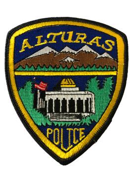 ALTURAS  POLICE CA PATCH