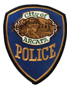 ARCATA   POLICE CA PATCH