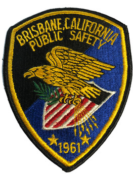 BRISBANE PUBLIC SAFETY POLICE CA PATCH
