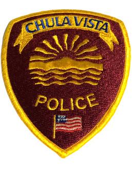 CHULA VISTA POLICE CA PATCH