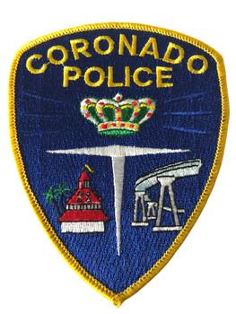 CORONADO    POLICE CA PATCH