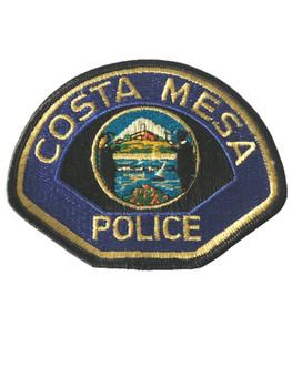 COSTA MESA  POLICE CA PATCH