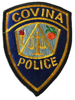 COVINA  POLICE CA PATCH