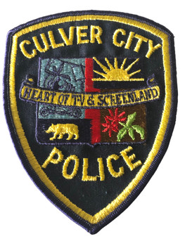 CULVER CITY  POLICE CA PATCH