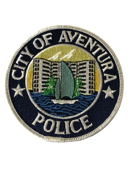 AVENTURA POLICE FL PATCH
