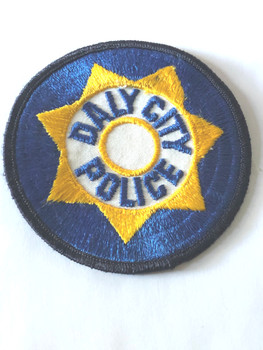 DALY CITY POLICE   CA  PATCH