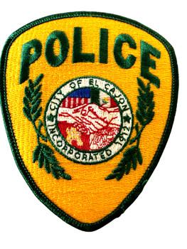 EL CAJON POLICE CA  PATCH #2
