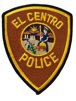 EL CENTRO POLICE CA  PATCH