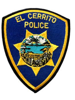 EL CERRITO  POLICE CA  PATCH