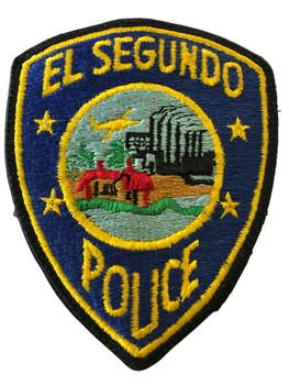 EL SEGUNDO  POLICE CA  PATCH