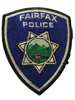 FAIRFAX POLICE CA  PATCH