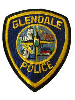 GLENDALE  POLICE CA  PATCH