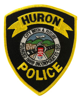 HURON  POLICE CA  PATCH