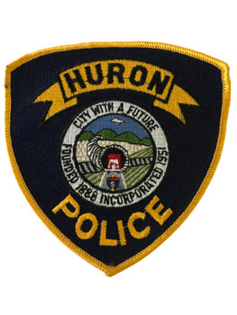 HURON  POLICE CA  #2 PATCH
