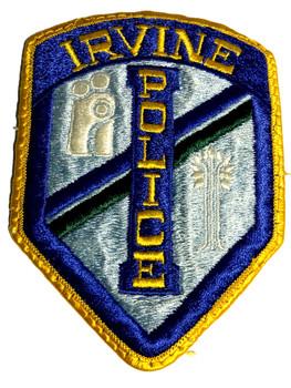 IRVINE  POLICE CA PATCH