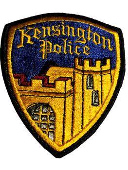 KENSINGTON   POLICE CA PATCH