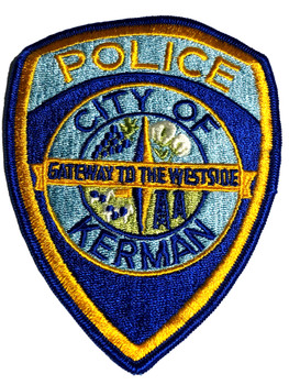 KERMAN POLICE CA PATCH
