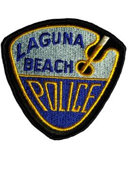 LAGUNA BEACH POLICE CA PATCH